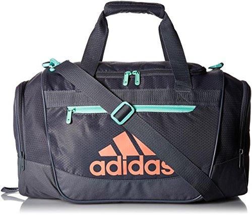 Adidas Women S Defender Iii Small Duffel Bag Green Chalk