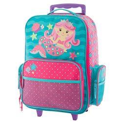 Stephen Joseph Toddler Girl's Classic Rolling Luggage, Mermaid Accessory, mermaid, N/A