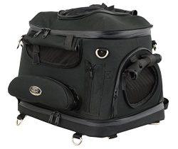 Heavy Duty Motorcycle Pet Carrier Sissy Bar Bag