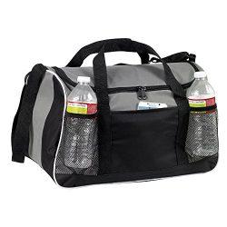 Duffle Bag, 17″ BuyAgain Small Travel Carry On Sport Duffel Gym Bag.