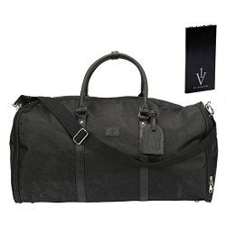 Convertible Garment Duffle Bag for Men|Mens Suit Travel Bags|With Powerbank