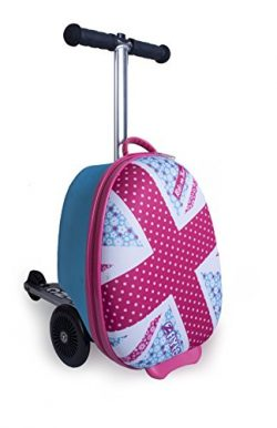 ZincFlyte Kid's Luggage Scooter 15″ – Daisy