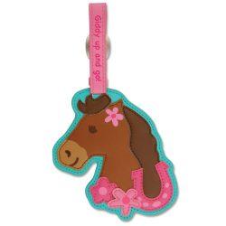 Stephen Joseph Luggage Tag, Horse