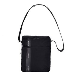 VRLEGEND Nylon Handbag Messenger Shoulder Bag Travel Crossbody Bag Tote Bag