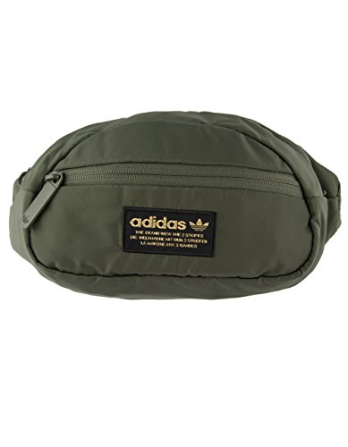 adidas Women's Originals National Waist Pack Major/Black/Gold One Size