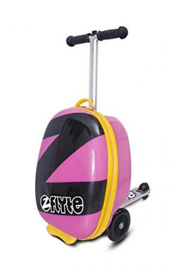 ZincFlyte Kid's Luggage Scooter 18″ – Power Pink