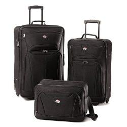 American Tourister Luggage Fieldbrook II 3 Piece Set, Black
