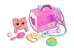 Just Play Doc Mcstuffins Toy Hospital Pet Carrier-Whisper – Plush Roleplay