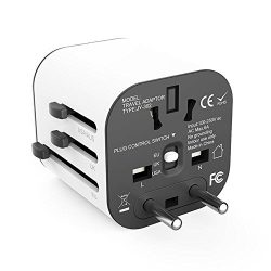 Travel adapter Worldwide All in One Universal Travel Adaptor Wall AC Power Plug Adapter Wall Cha ...