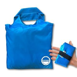 Beach Tote – Large Folding Travel & Shopping Bag (Collapsible Small Pouch)