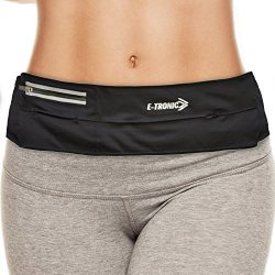Running Belt Best Waist Pack: Fanny Pouch Waistband Case Holds All Cell Phones Sports Fitness Ho ...