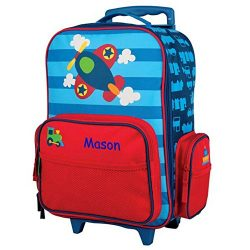 Personalized Kids Rolling Luggage (Airplane)