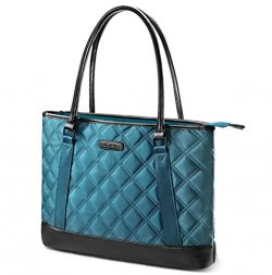 Laptop Tote Bag, DTBG 15.6 Inch Nylon Classic Diamond Pattern Travel Business Computer Shoulder  ...