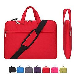 Laptop Case, Laptop Shoulder Bag, CROMI Simplicity Slim Lightweight Briefcase Commuter Bag Busin ...