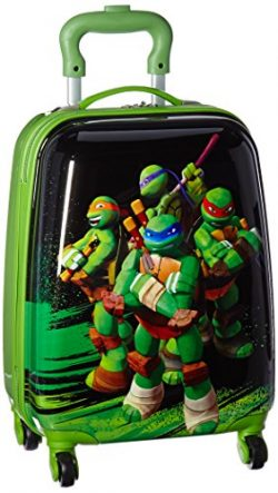 Heys America Nickelodeon Ninja Turtles Carry-On Spinner Luggage (TMNT)