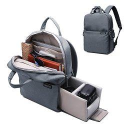 CADeN Camera Backpack DSLR/SLR Camera Bag Multifunction Travel Outdoor Waterproof Tablet Laptop  ...