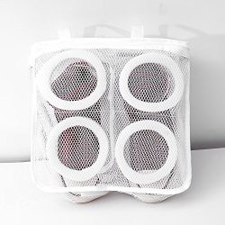Aimto Laundry Wash shoes Bags for travel – Premium Quality:Durable Mesh Laundry Wash Shoes ...