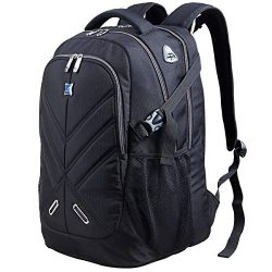 Backpack for Men and Women Fit 17 Inches All 15.6 Inches Laptops Waterproof Shockproof OUTJOY Sc ...