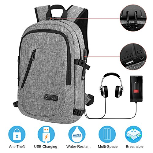 6e549035583a Travel Laptop Backpack Business Laptop Backpack College School Backpack  with USB Charging Port a .