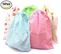 10 Drawstring Portable Storage Shoe Outdoor Travel Bag Dustproof Gift Bags