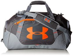 Under Armour Undeniable 3.0 Medium Duffle Bag, Rhino Gray/Steel, One Size