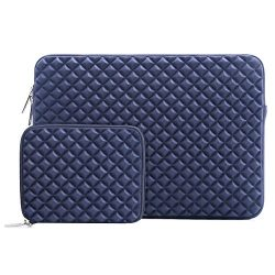 Mosiso Laptop Sleeve Bag for 15-15.6 Inch MacBook Pro, Notebook Computer with Small Case, Shock  ...