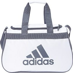 adidas Diablo Small Duffel Limited Edition Colors- Exclusive (White/Onix)