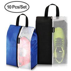 Lermende Shoe Bags Travel Gym Dust-proof Organizer Storage Portable Tote Bag Multi-purpose Nylon ...