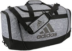 adidas Defender II Medium Duffel Bag, Medium, Jersey Onix/Black/Light Onix