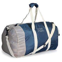 travel inspira Foldable Duffel Travel Duffle Bag Collapsible Packable Lightweight Sport Gym Bag