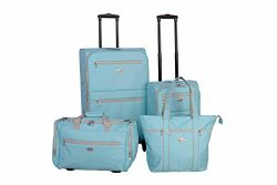 American Flyer Perfect 4-Piece Luggage Set, Mint