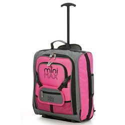 MiniMAX Childrens/Kids Luggage Carry On Trolley Suitcase with Backpack and Pouch for your Favour ...