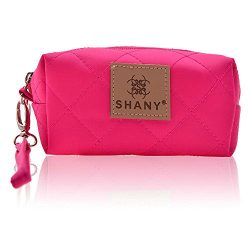 SHANY Cosmetics Limited Edition Mini Tote Bag and Travel Makeup Bag, Coral