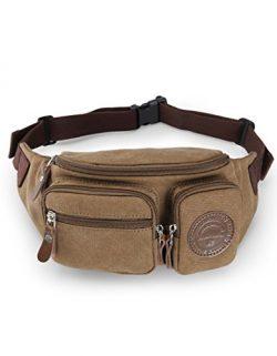 Muzee Waist Pack Running sling backpack crossbody bag fanny packs