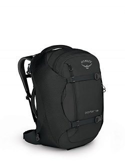 Osprey Packs Porter 46 Travel Backpack, Black, One Size