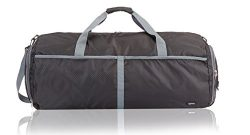 AmazonBasics Packable Travel Duffel, 27-inch, Black