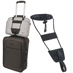 May Lucky Travel Luggage Backpack Carrier Strap Adjustable Travelon Bag Bungee