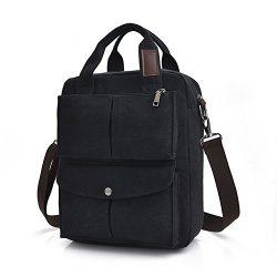 MiCoolker Leisure Crossbody Tote Bag College Students Shoulder Bag Messenger Purse Travel Handba ...