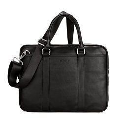 VICUNA POLO Briefcases For Men Laptop Handbag Messenger Bag Mens Business Bag(black)
