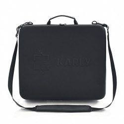 Karly Innovative slim office lunch box for men or women briefcase portable travel small beverage ...