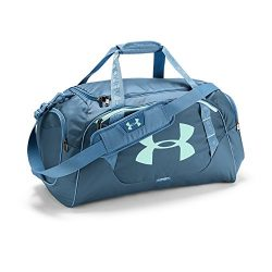 Under Armour Undeniable 3.0 Medium Duffle Bag, One Size, Bass Blue/Refresh Mint