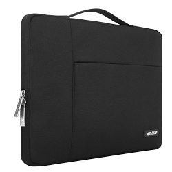 Mosiso Laptop Sleeve, Polyester Fabric Multifunctional Briefcase Handbag Case Cover for 13-13.3  ...