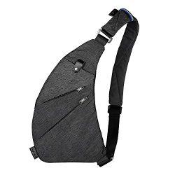 Sling Backpack Shoulder Chest Crossbody Bag Lightweight Casual Outdoor Sport Travel Hiking Multi ...