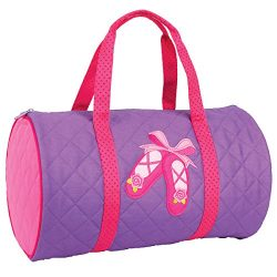 Stephen Joseph Quilted Duffle Bag – Ballet Shoes