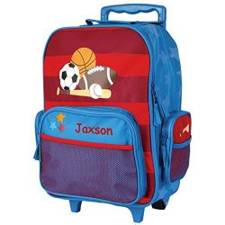Personalized Kids Rolling Luggage (Sports)