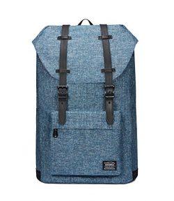 Lightweight Outdoor Backpack, KAUKKO Travel Casual Rucksack Laptop Daypack for 15″ (Linen  ...