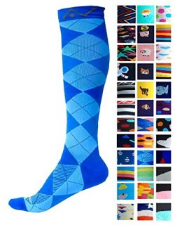 Compression Socks (1 pair) for Women & Men – Easywear Series – Best Graduated At ...