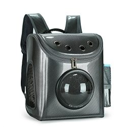ADMLC Pet Carrier Backpack For Small Cats and Dogs,Outdoor Portable Travel Space Backpack for Pu ...