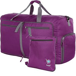 bago Travel Duffle Bag For Women & Men – Foldable Duffel Bags For Luggage Gym Sports ( ...