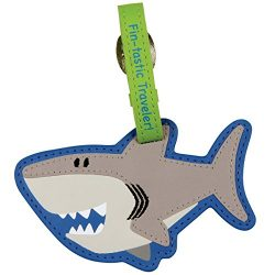 Stephen Joseph Luggage Tag, Shark